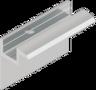 Aluminium eindklem 45 mm