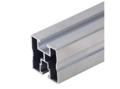 Aluminium montage profiel 40x40 6,20 mtr